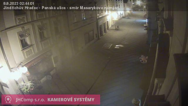 Webkamera Panská směr Masarykovo nám.